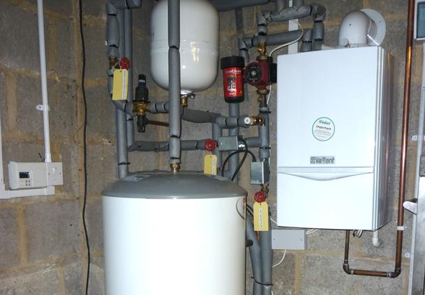 Boiler System: Unvented Boiler System